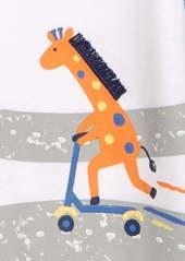 Little Me Giraffe 2-Pack Rompers (Baby)