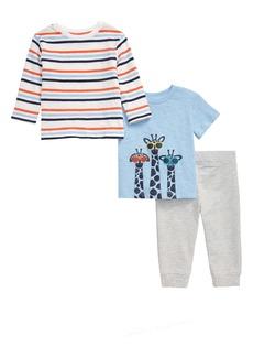 Little Me Giraffe T-Shirts & Pants Set (Baby)