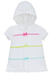 Little Me Hooded Swim Coverup, Baby Girls (0-24 months)