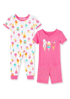 Little Me Ice Cream Set of 2 Fitted Two-Piece Pajamas (Baby)