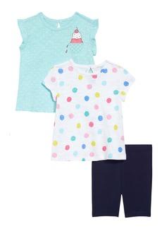 Little Me Ice Cream Tops & Shorts Set (Baby)