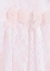 Little Me Lace Dress & Headband Set (Baby Girls)