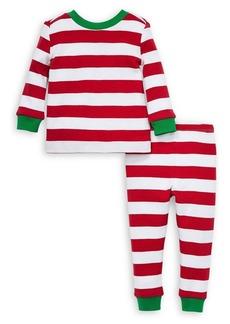 Little Me Little Kid's Striped 2-Piece Pajama Set