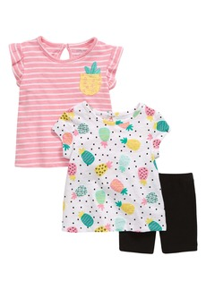 Little Me Pineapple Tops & Shorts Set (Baby)