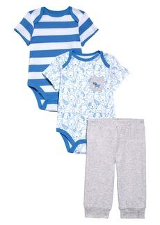 Little Me Puppy Bodysuits & Sweatpants Set (Baby)