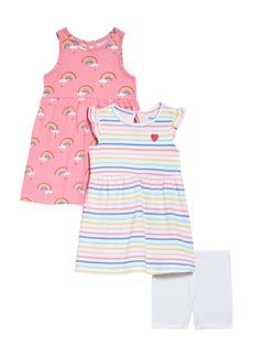 Little Me Rainbow Dresses & Shorts Set (Baby)