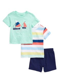 Little Me Sailboat 2-Pack T-Shirts & Shorts Set (Baby)