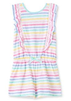 Little Me Stripe Romper (Baby)