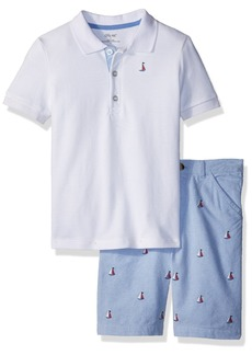 Little Me Boys' Toddler Short Set