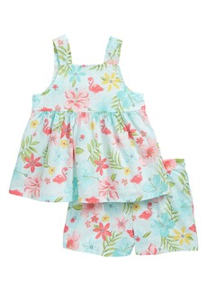Little Me Tropical Tunic & Shorts Set (Baby)