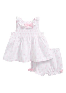 Little Me Tunic & Bloomers Set (Baby Girls)