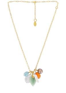 Lizzie Fortunato Serpentine Charm Necklace