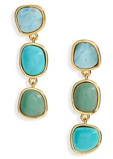 Women's Lizzie Fortunato Blue Current Earrings
