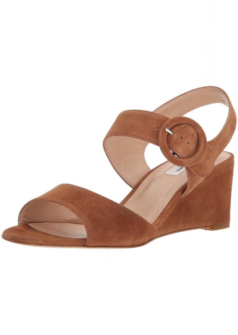 L.K. Bennett Women's Bailey Wedge Sandal  40.5 Medium UK ( US)
