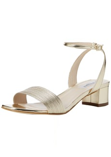 L.K. Bennett Women's Charline-met Dress Sandal Gold-Soft Gold 41 EU/ M US