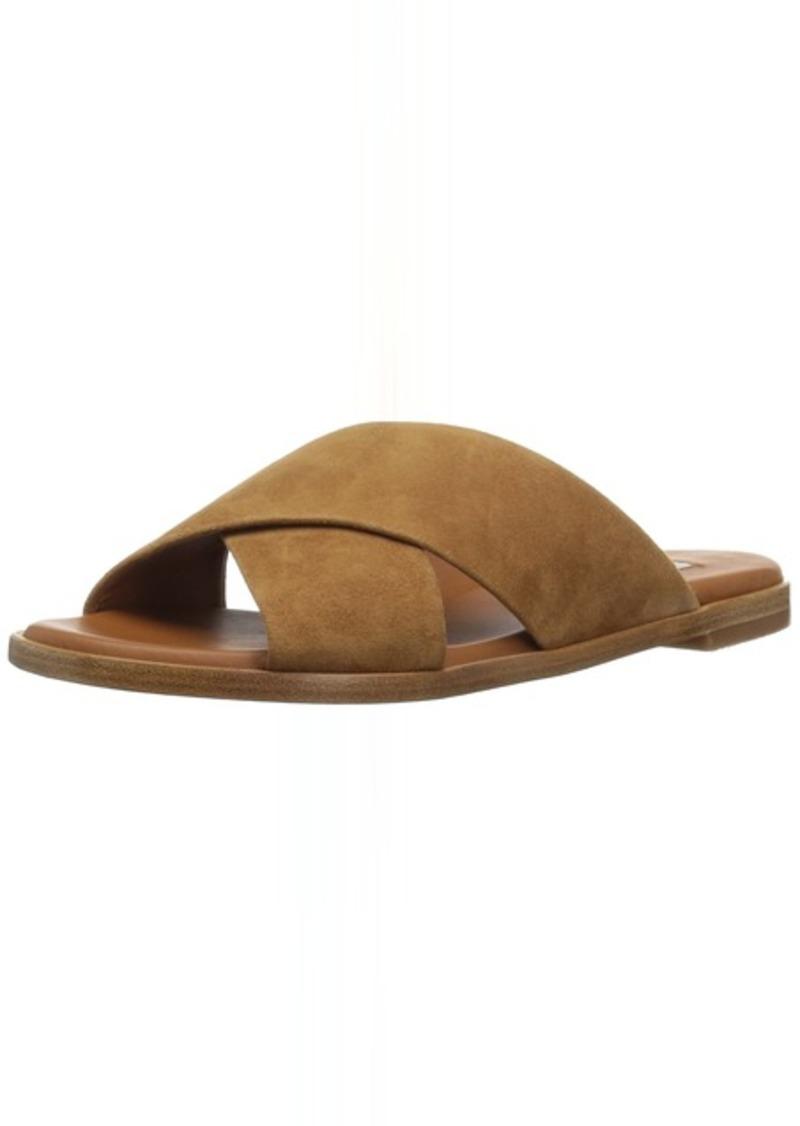 L.K. Bennett Women's Elianna Slide Sandal tan SHO 3 M EU ( US)