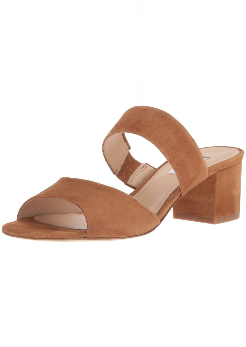 L.K. Bennett Women's Elysia Heeled Sandal tan SHO 41 M EU ( US)