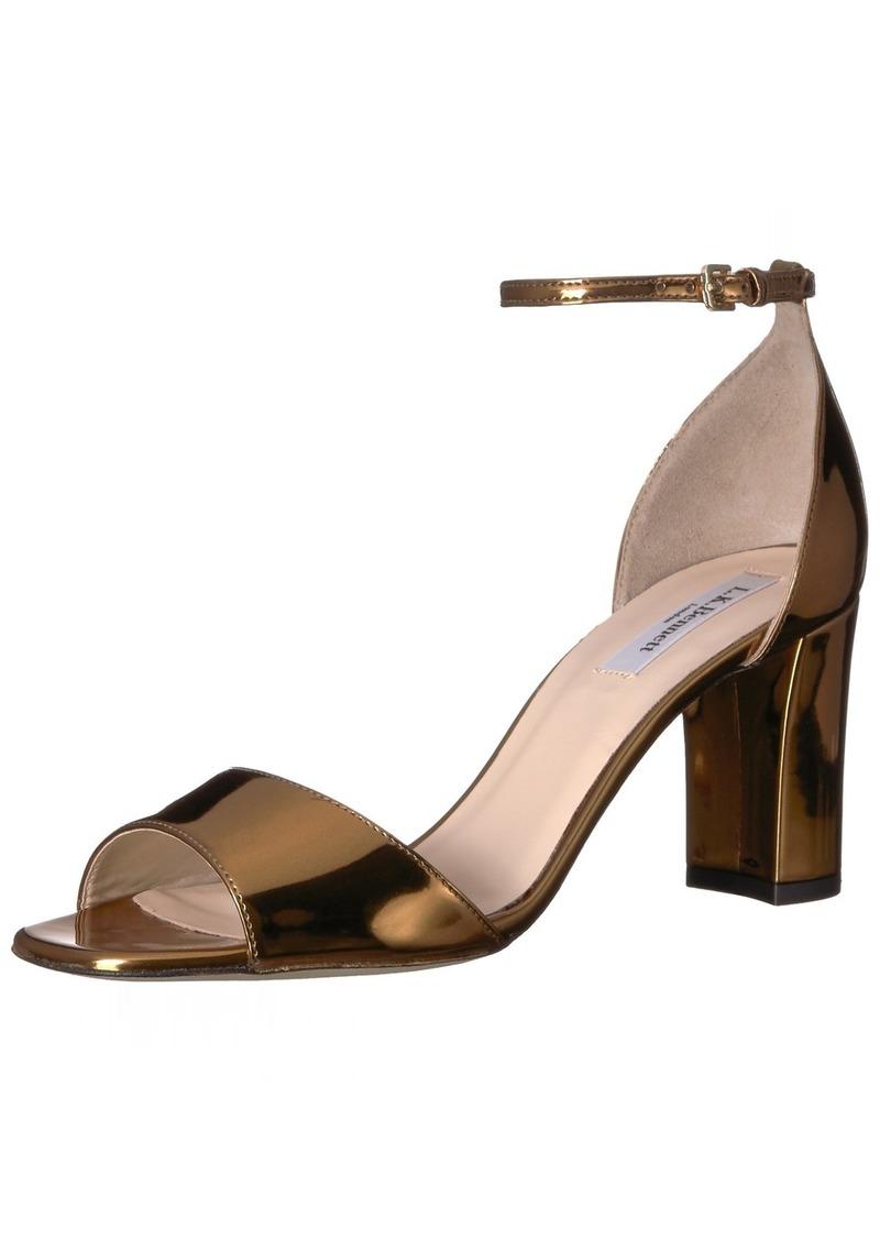 L.K. Bennett Women's Helena-mir Heeled Sandal  3 M EU ( US)