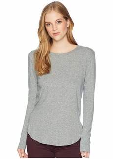 LnA Essential Tri-Blend Long Sleeve Crew Neck