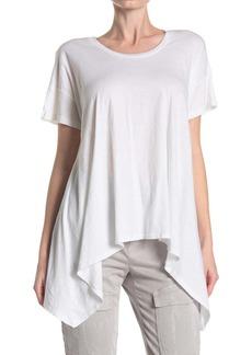 LnA Isabel Sharkbite Hem T-Shirt