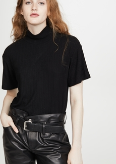 LNA Alice Mock Neck Top