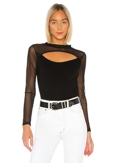 LNA Bound Mesh Long Sleeve Top