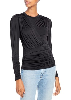 LNA Cannon Ruched Top