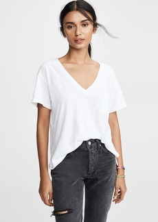 LNA Deep V Pocket Tee