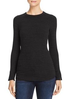LNA Fine-Rib Long-Sleeve Sweater