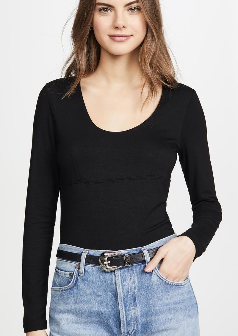 LNA Harlee Long Sleeve Top