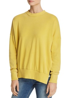 LNA Hudson Side-Slit Sweatshirt
