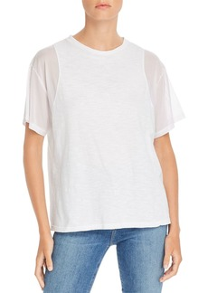 LNA India Mesh-Sleeve Tee