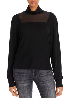 LNA Lyra Brushed Turtleneck Top