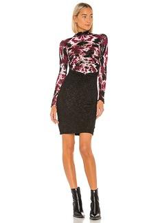 LNA Phoenix Tie Dye Dress