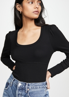 LNA Ribbed Korey Top