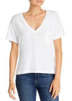 LNA V-Neck Cotton Pocket Tee