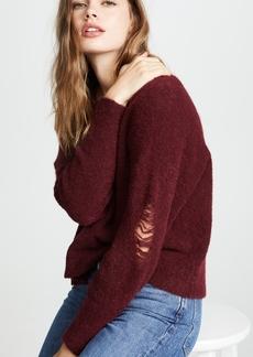 LNA Wolf Alpaca Sweater