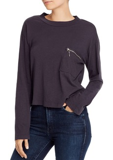 LNA Zip Pocket Tee
