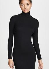 LNA Zip Turtleneck Dress