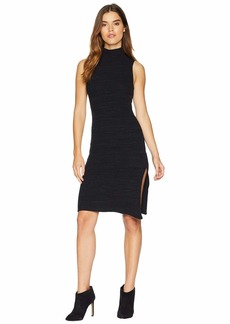 LnA Sleeveless Slub Sweater Dress