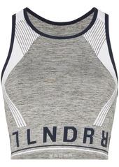 LNDR Aero 01 branded sports bra