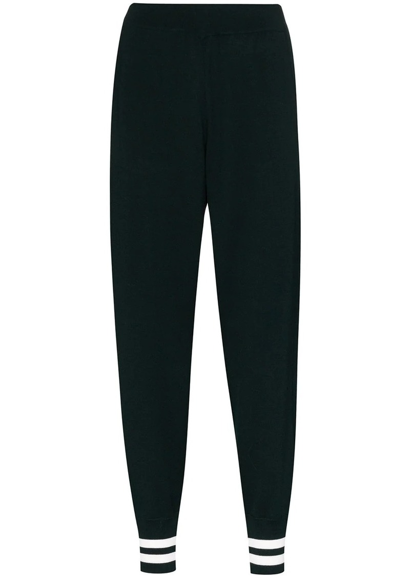 LNDR Arctic knit track pants