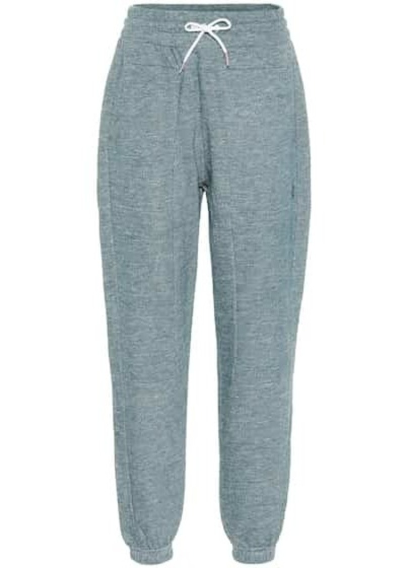 LNDR Astroid cotton-jersey trackpants