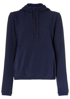 LNDR Commuter zip front hoodie