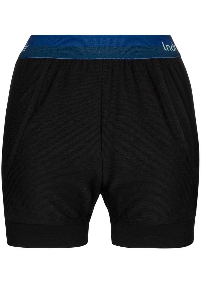 Dooble contrast-waistband sport shorts