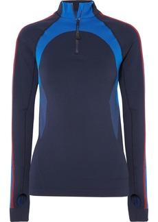 LNDR Downhill Racer paneled stretch-knit top