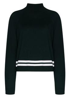 LNDR Arctic knit high-neck jumper