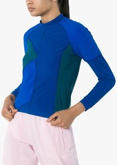 LNDR Malibu Rashie colour-block top