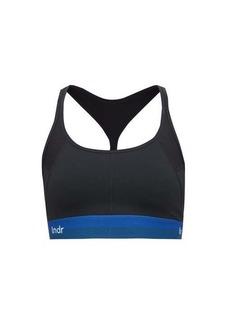 LNDR Workout logo-jacquard sports bra