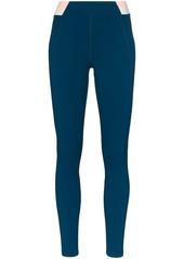 LNDR Spar stripe waistband leggings